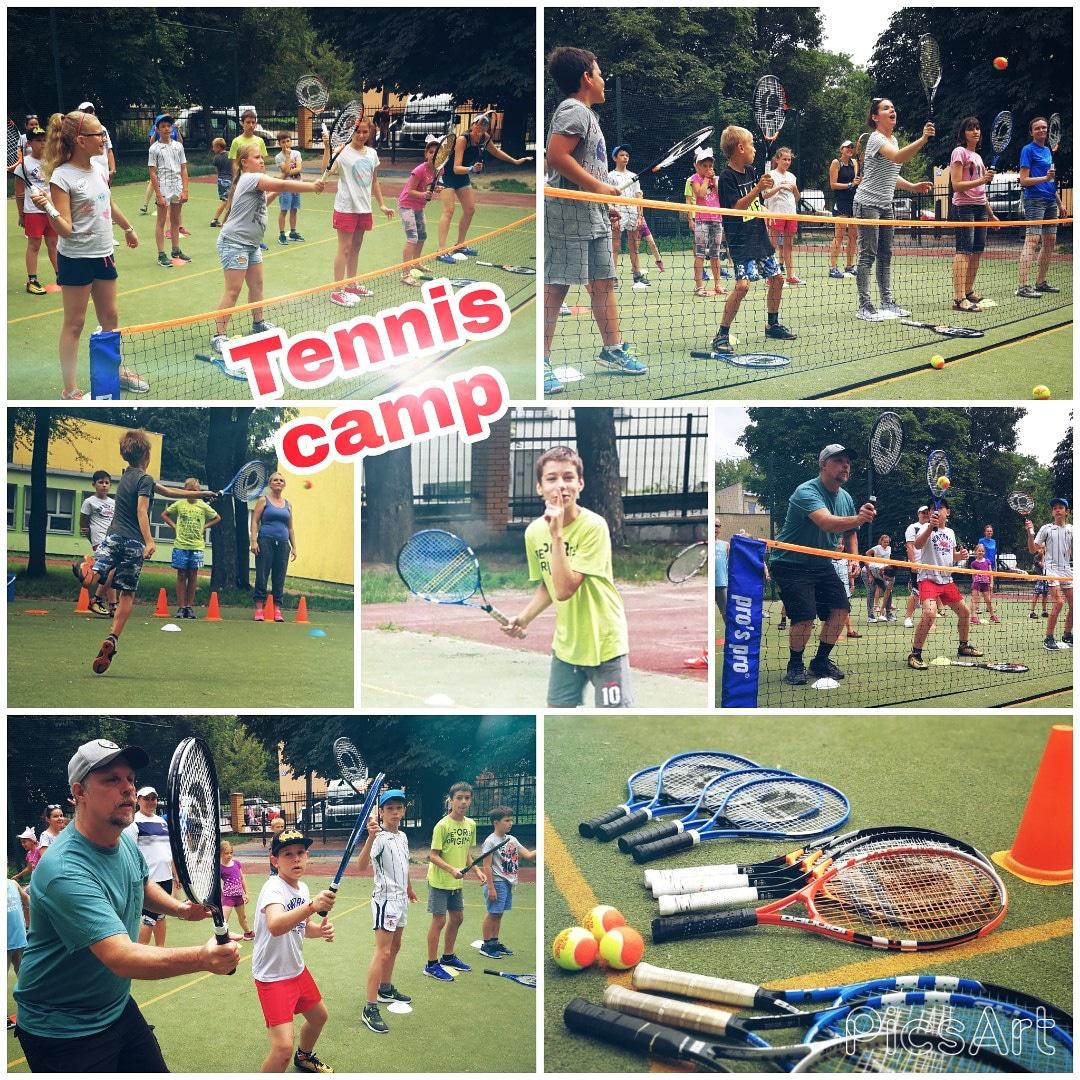 Warsztaty Tenisa – Tennis camp 2018 – relacja
