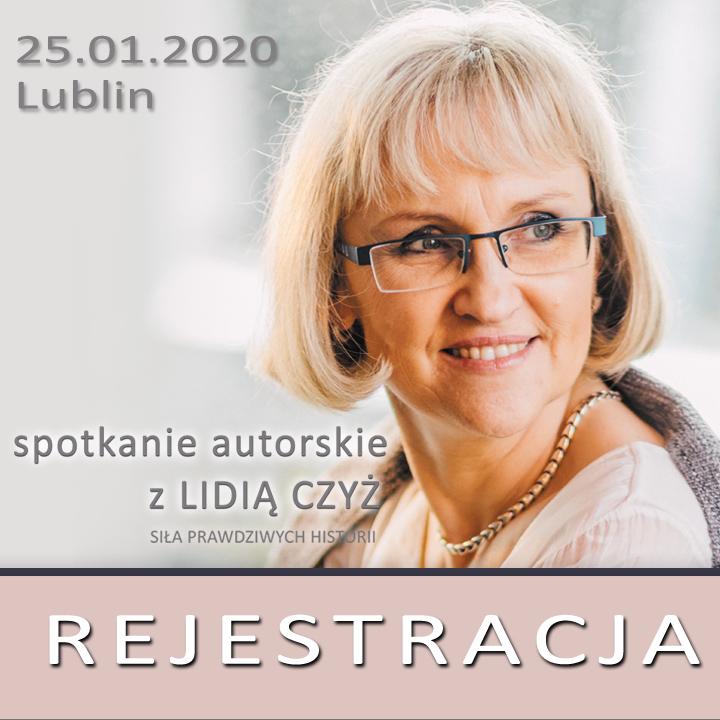 Konferencja z Lidią Czyż - REJESTRACJA