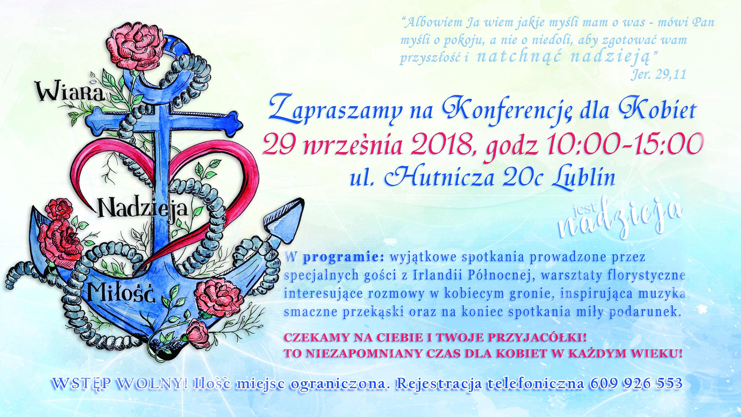 Konferencja dla Kobiet 2018